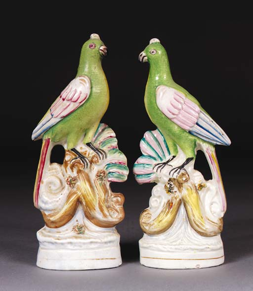 A pair of models of exotic bir
