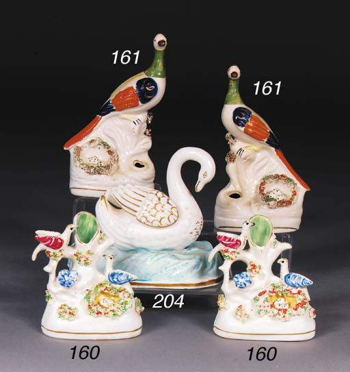 A Staffordshire porcelain mode