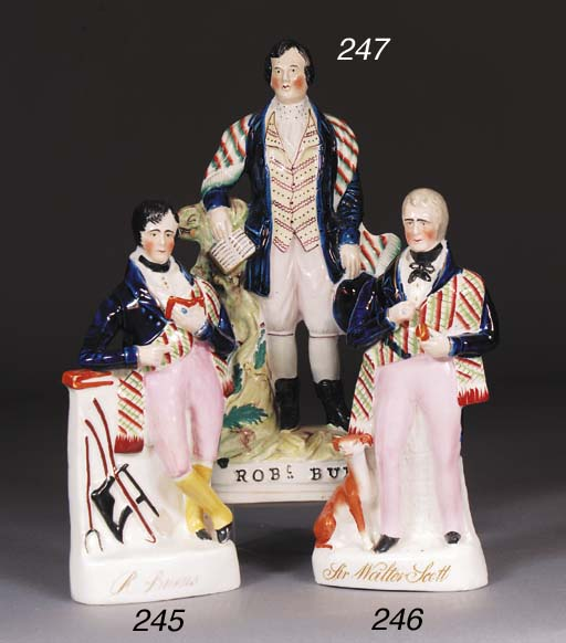 A Staffordshire figure of Robe