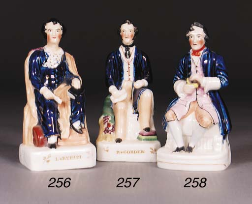 A Staffordshire figure of Lord