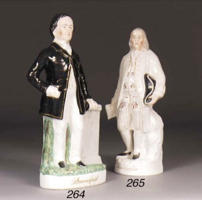 A Staffordshire figure of Geor