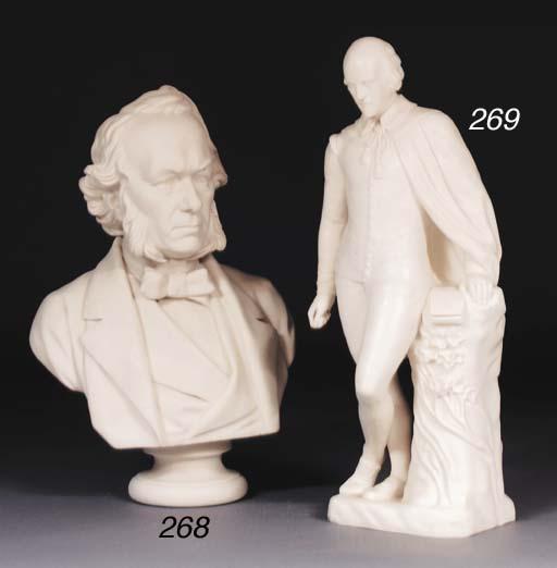 A John Adams & Co. Parian bust