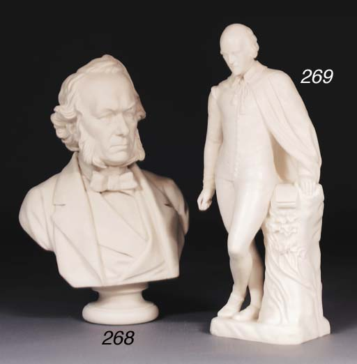 A Minton Parian figure of Will