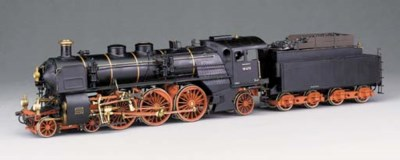 A detailed Gauge 1 gas-fired s