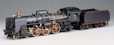 A Gauge 1 spirit-fired steam m