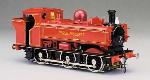 A Gauge 1 spirit-fired steam m