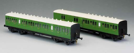Two Gauge 1 two-rail electric