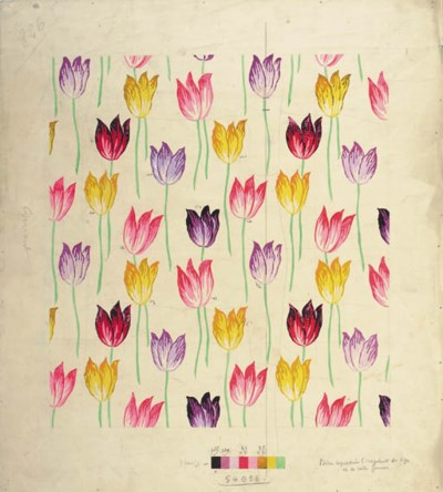 A tulips design with variant c