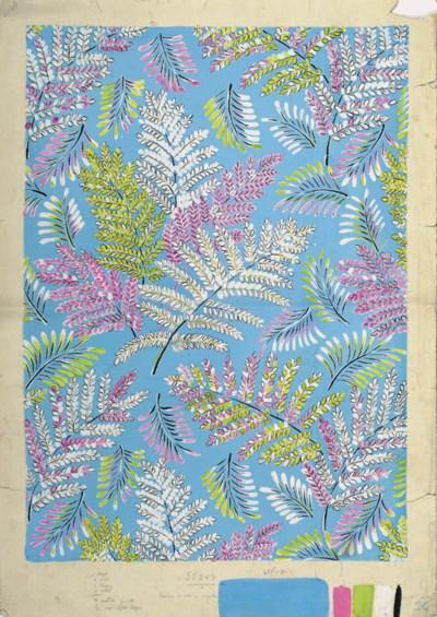 A collection of textile design
