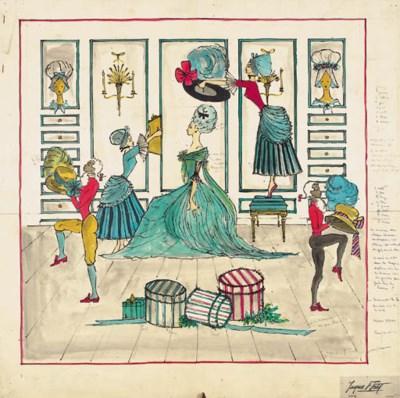 La Mode Chez Rose Bertin, desi