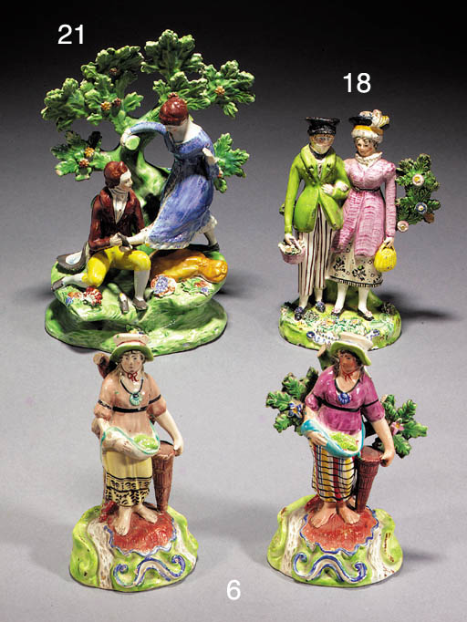 Two Walton figures