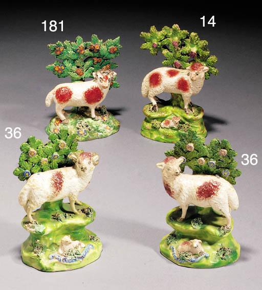 A Ralph Salt ewe and lamb grou