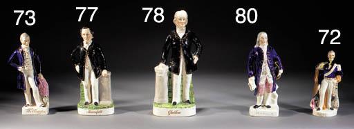 A figure of Benjamin Franklin