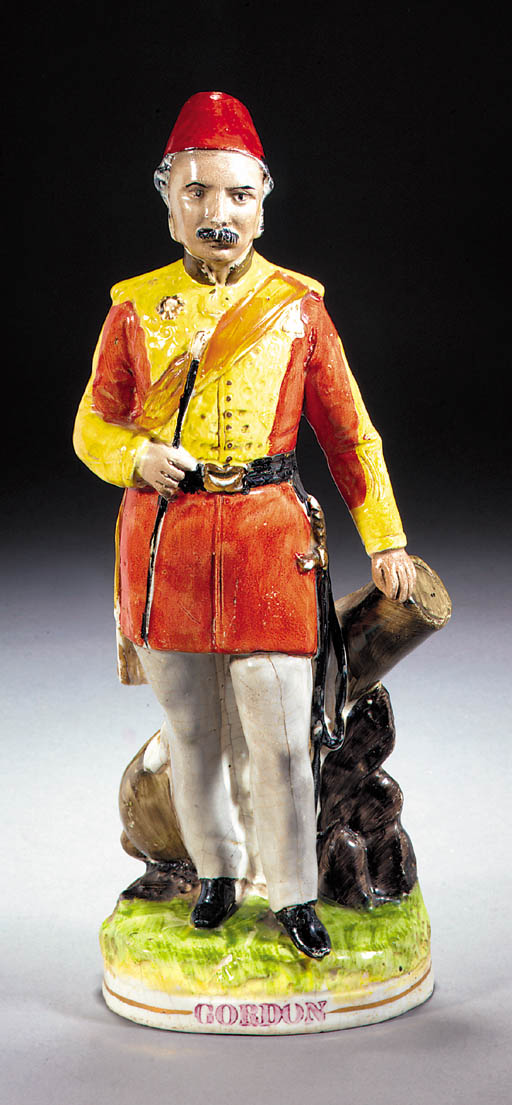 A figure of General Gordon