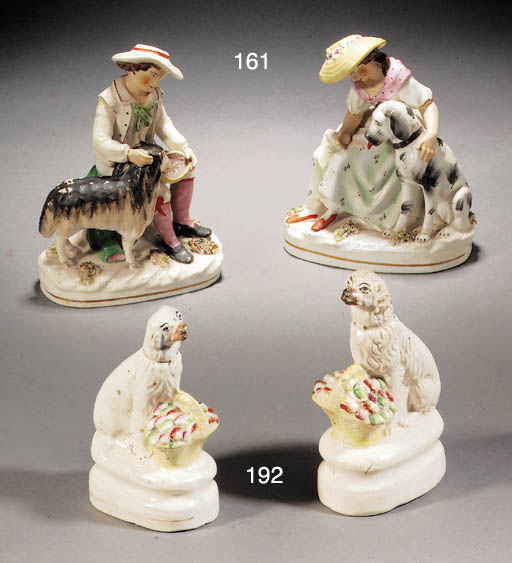 A pair of porcelaineous groups