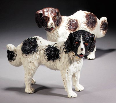 Two models of St. Bernards