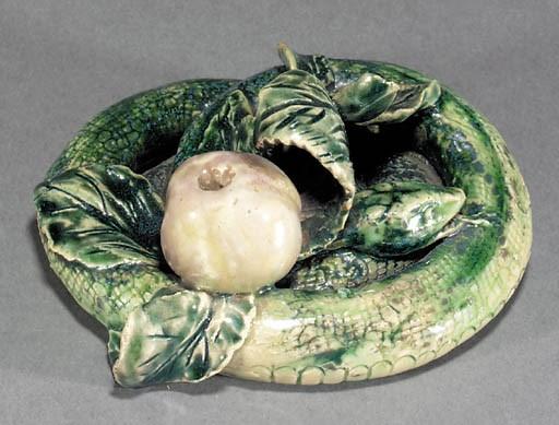A Lambeth stoneware figure of