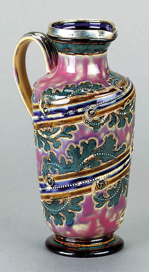 A Doulton Lambeth stoneware ju