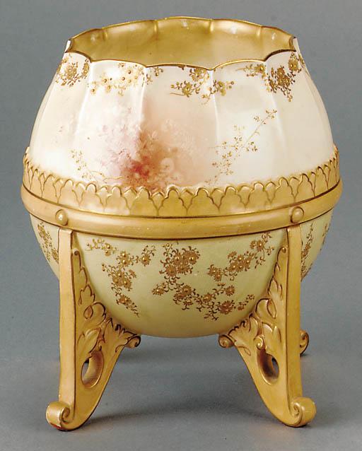 A Burslem vase