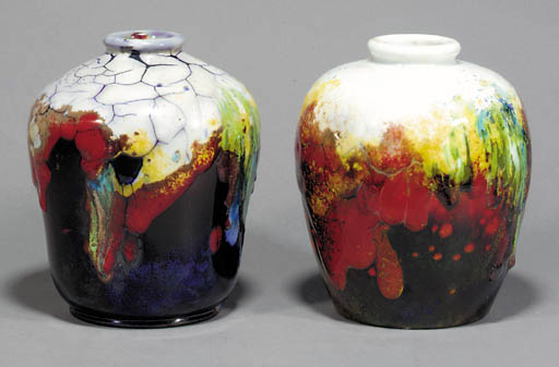 Two Chang vases