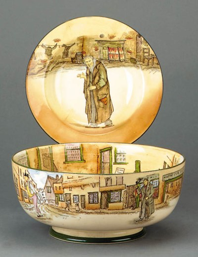 A Dickens Ware bowl