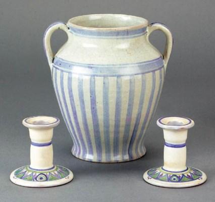 A CSA twin-handled vase