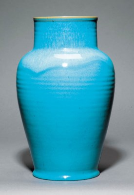 A large CSA Chinese Blue vase