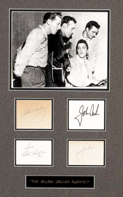Presley, Cash, Perkins And Lew
