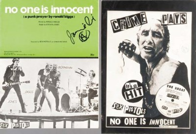 The Sex Pistols/Jamie Reid