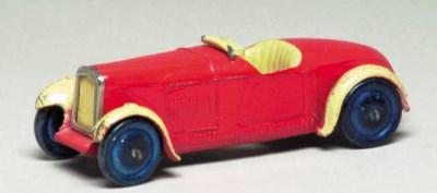 A pre-war Hornby Series red an