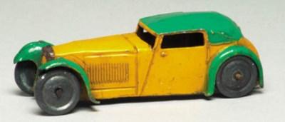 A pre-war Hornby Series yellow