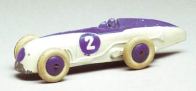 Pre-war Dinky 23a Racing Cars