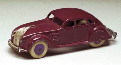 A pre-war Dinky 30a Chrysler A