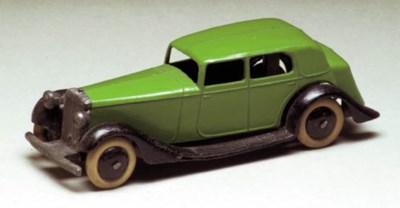 A pre-war Dinky 30b Rolls-Royc