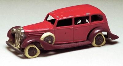 A pre-war Dinky 30d Vauxhall