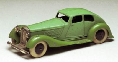 A pre-war Dinky 36d Rover Stre