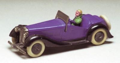 A pre-war Dinky 36e British Sa