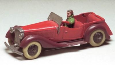 A pre-war Dinky 36f British Sa