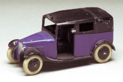 Pre-war Dinky 36g taxis