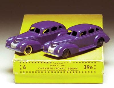 Pre-war Dinky 39e Chrysler Roy