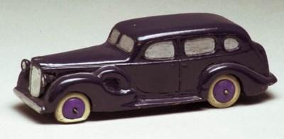 A pre-war Dinky Wooden Prototy