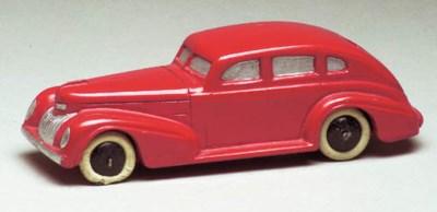 A pre-war Dinky red 39e Chrysl