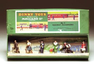 Pre-war Dinky Railway Sets