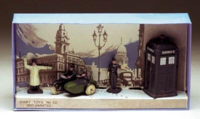 A Dinky pre-war 42 Police Hut,