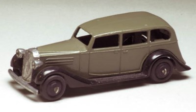 A Dinky dark grey 30d Vauxhall