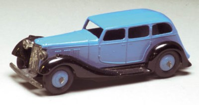A Dinky blue 36a Armstrong Sid