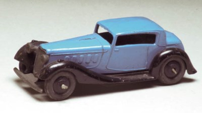 A Dinky blue 36b Humber Vogue