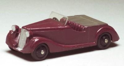 Dinky 38b Sunbeam-Talbots