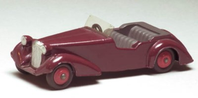 Dinky 36d Alvis with coloured