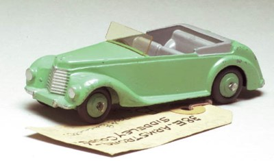 A Dinky green Paint Sample 38e